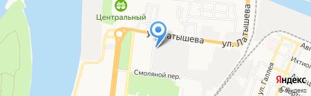 Кино на карте Астрахани