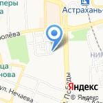 Премьер на карте Астрахани