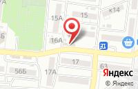 Схема проезда до компании ТЕПЛОМИР в Астрахани