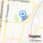 Купец на карте Астрахани