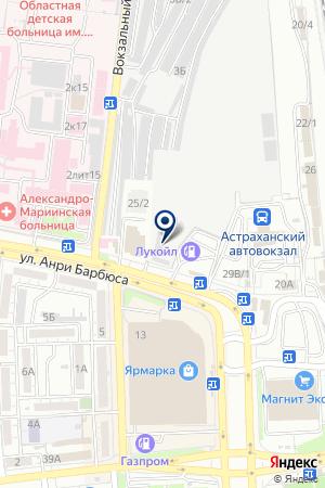 СНЕЖАНА ПКФ на карте Астрахани