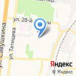 Детский сад №91 на карте Астрахани