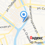 Рустехника на карте Астрахани