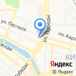 Бункер на карте Астрахани