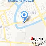 Эффект на карте Астрахани