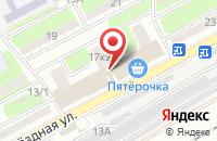 Схема проезда до компании Техно-Маркет в Астрахани