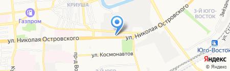 iCar на карте Астрахани