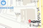 Схема проезда до компании Принцесса Каролина в Астрахани