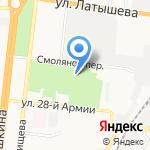 Геотехника на карте Астрахани