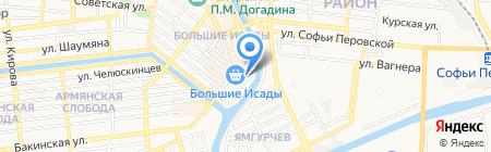 Текстильный мир на карте Астрахани