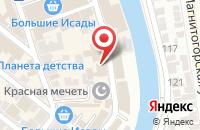 Схема проезда до компании Сантехсервис в Астрахани