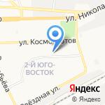 Детский сад №31 на карте Астрахани