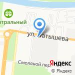 Главное бюро медико-социальной экспертизы по Астраханской области на карте Астрахани