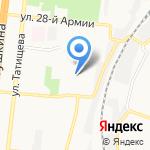 Астраханский колледж арт-фэшн индустрии на карте Астрахани
