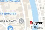 Схема проезда до компании Ковсар в Астрахани