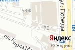 Схема проезда до компании Татьяна в Астрахани