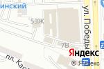 Схема проезда до компании Волшебная ночь в Астрахани