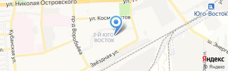 Средняя общеобразовательная школа №33 им. Н.А. Мордовиной на карте Астрахани