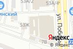 Схема проезда до компании Ленточка в Астрахани