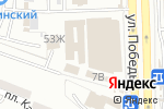 Схема проезда до компании Центр бухгалтерских услуг в Астрахани
