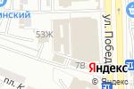 Схема проезда до компании С иголочки в Астрахани