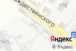 Схема проезда до компании Лига-А в Астрахани