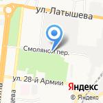 Art print на карте Астрахани