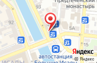 Схема проезда до компании Марс в Астрахани