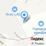 Сарко на карте Астрахани