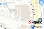Схема проезда до компании Анаида в Астрахани