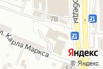 Схема проезда до компании АникаПул в Астрахани