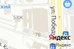 Схема проезда до компании Eifello в Астрахани