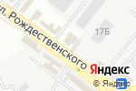 Схема проезда до компании Наш эконом в Астрахани