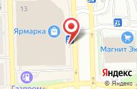 Схема проезда до компании АСТОР в Астрахани