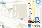 Схема проезда до компании Мальвина в Астрахани