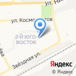 Средняя общеобразовательная школа №33 им. Н.А. Мордовиной с дошкольным отделением на карте Астрахани