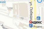 Схема проезда до компании Дельфин в Астрахани
