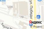Схема проезда до компании Ирина в Астрахани