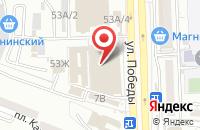 Схема проезда до компании Электромастер в Астрахани