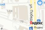 Схема проезда до компании Спорт-Данс в Астрахани