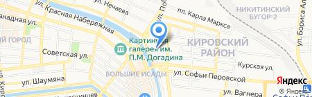 Мираж-Дизайн на карте Астрахани