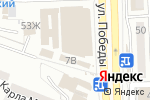 Схема проезда до компании Ландрин в Астрахани