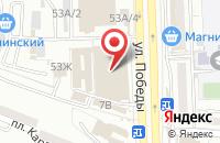 Схема проезда до компании Сеть магазинов подарков и сувениров в Астрахани