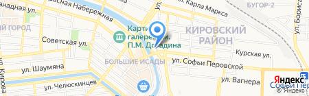 Сеть магазинов семян на карте Астрахани