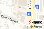 Схема проезда до компании Волга в Астрахани