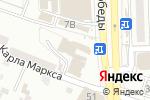 Схема проезда до компании Бланкъ в Астрахани