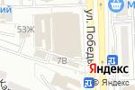 Схема проезда до компании Мир мужской обуви в Астрахани