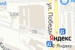 Схема проезда до компании Максим в Астрахани
