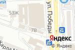Схема проезда до компании Клеопатра в Астрахани