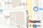 Схема проезда до компании Малинка в Астрахани
